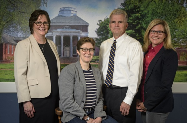 Recipients of the University's Excellence in Teaching Award