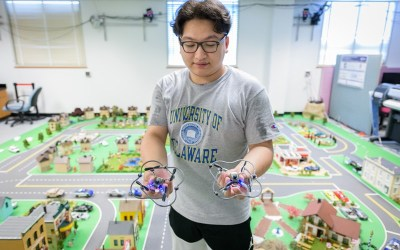 Transport in UD's Scaled Smart City
