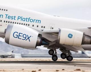 GE9X plane