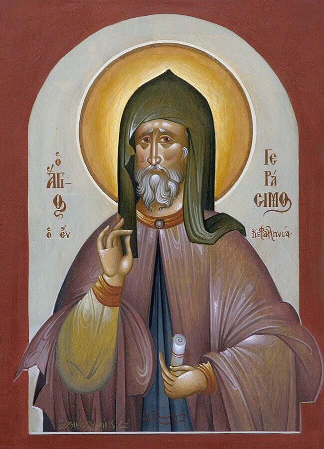 Ο Άγιος Γεράσιμος ο Νοταράς