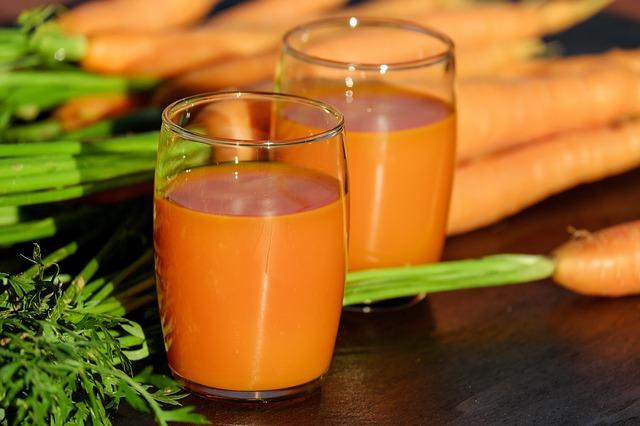 Κομπρέσα με χυμό καρότου