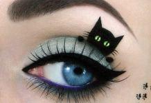 Το μάτι της γάτας - μακιγιάζ