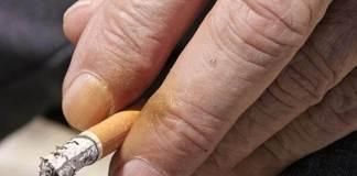 Δάχτυλα κιτρινισμένα