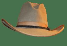 Λεκιασμένο βαμβακερό καπέλο
