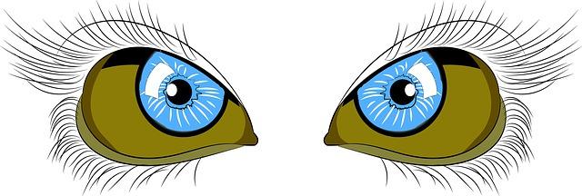 Τα μάτια υποφέρουν με την οθόνη του υπολογιστή