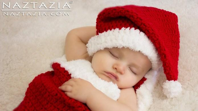 Πλέξτε με βελονάκι τη Χριστουγεννιάτικη προίκα του μωρού
