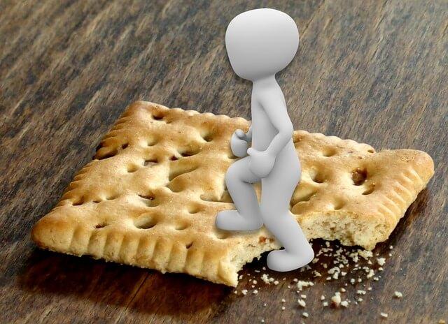 Για να διατηρηθούν τα μπισκότα τραγανά στο κουτί τους