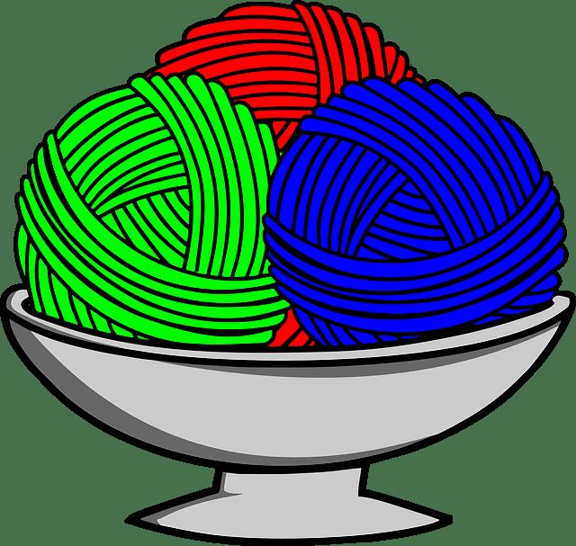 Αν πλέκουμε με 3 διαφορετικά χρώματα μαλλί, υπάρχει κόλπο!