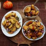 Πατάτες τηγανητές με βουτυρο  και λάδι