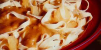 Λαζάνια με κάρυ - νόστιμη συνταγή
