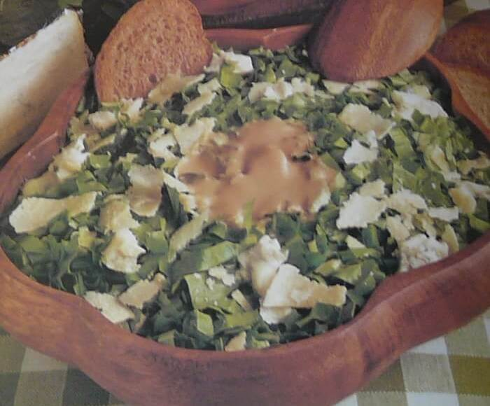 Σαλάτα Ρωμαϊκή με τυρί