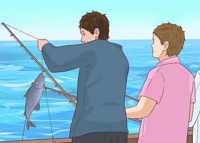 Ανέκδοτο – Δύο φιλαράκια ψάρευαν