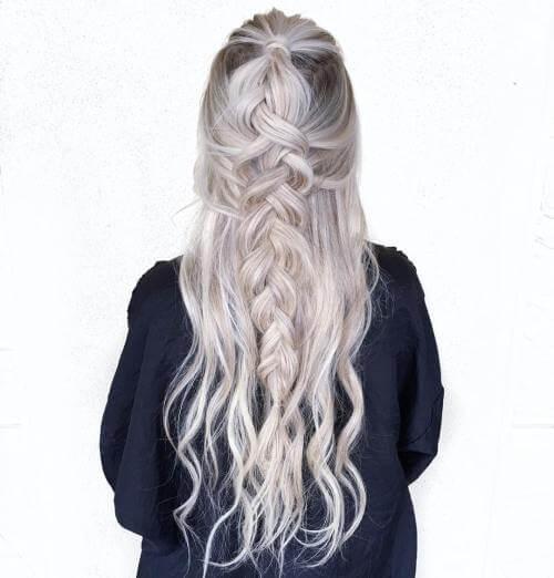 Χτενίσματα για μακριά μαλλιά με λεπτή τρίχα – μέρος 2ο