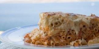Παστίτσιο με τόνο - Καλογηρική μαγειρική