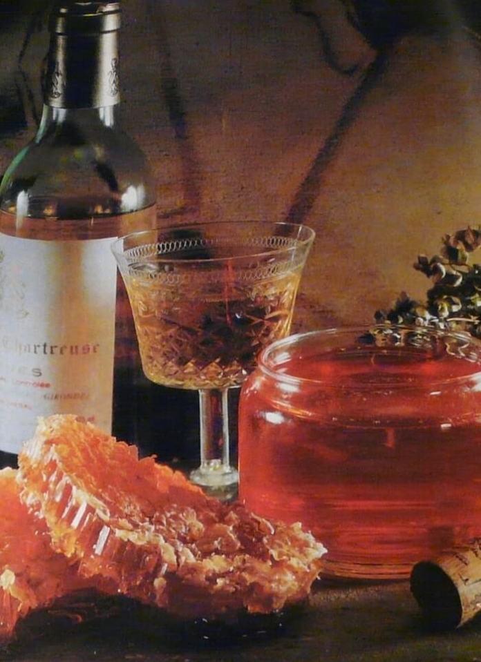 Ζελέ με κρασί ή μέλι - συνταγή