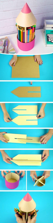 Φτιάξτε αυτή τη μολυβοθήκη ανέξοδα