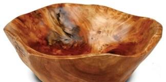 διατηρήστε το ξύλινο μπολ σαλάτας