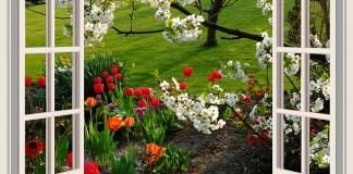 Ο κήπος τον Απρίλιο