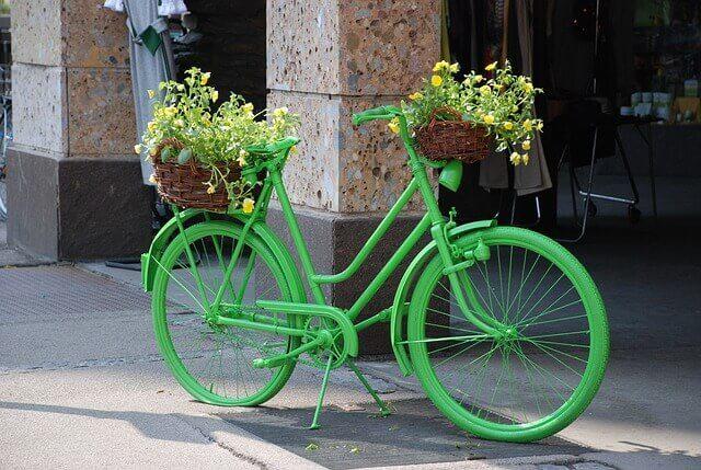 Λουλουδάτα ποδήλατα