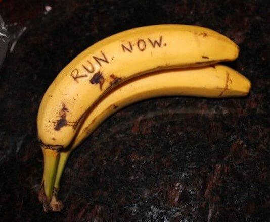 Με τη μπανάνα θα του το πεις