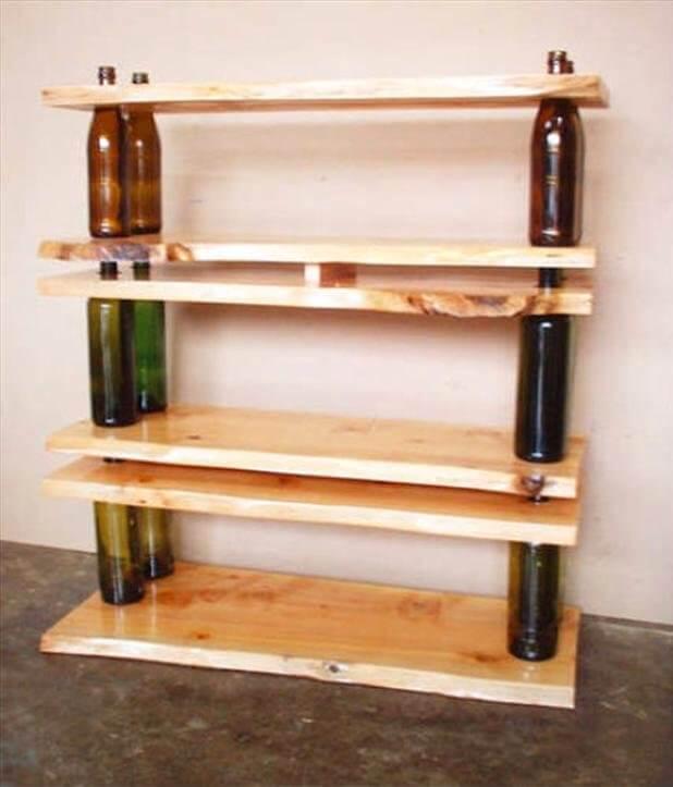 Κατασκευές με μπουκάλια και σανίδες