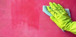 Καθαρίστε τον τοίχο χωρίς νερό