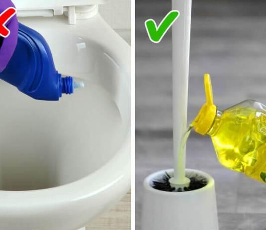 Διατήρησε την λεκάνη της τουαλέτας καθαρή