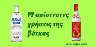 19 χρήσεις της Βότκας που θέλεις οπωσδήποτε να γνωρίζεις