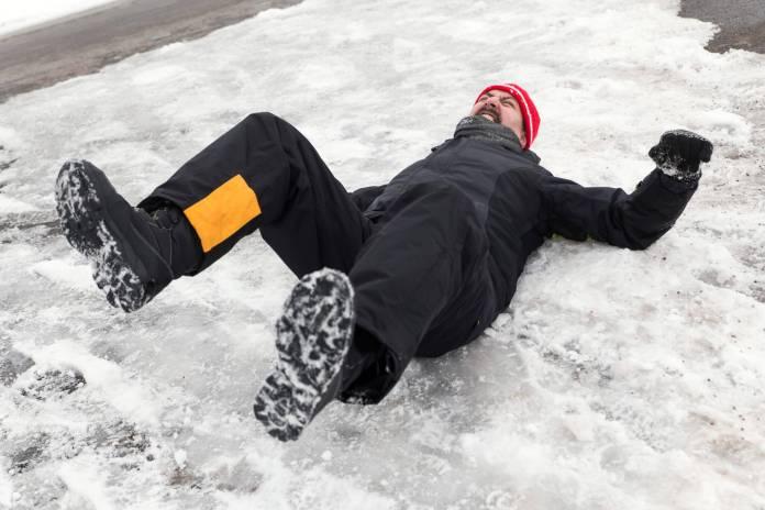 Για να μη γλιστράς στους παγωμένους δρόμους