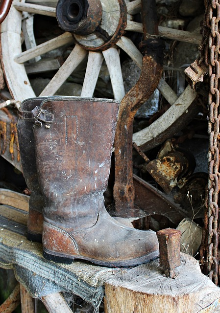 Διατήρησε τις δερμάτινες μπότες σε καλή κατάσταση