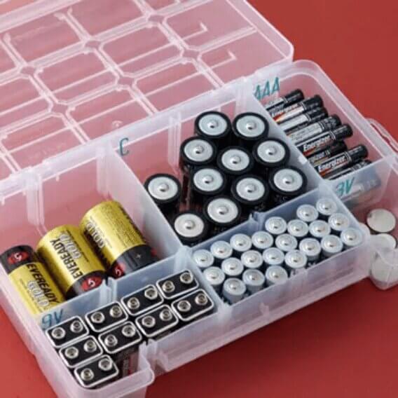 Οργάνωσε σωστά τις μπαταρίες