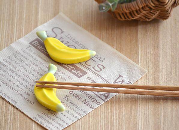 2 chopsticks φτάνουν για να φτιάξεις την τέλεια μπανάνα