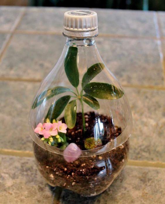 12 κατασκευές με πλαστικά μπουκάλια