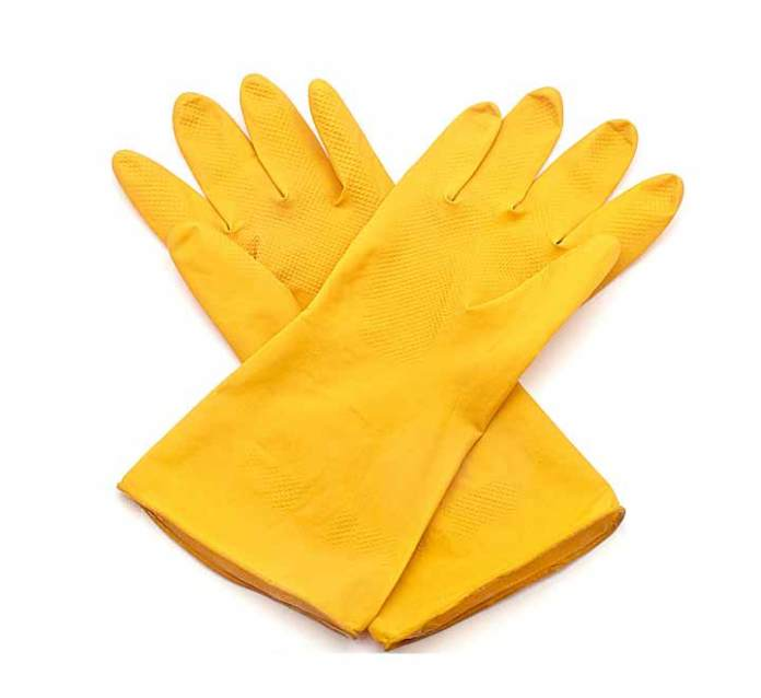 Γιατί δεν πετάμε τα παλιά γάντια της κουζίνας