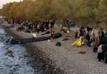 500 πρόσφυγες έφτασαν σήμερα στη Λέσβο