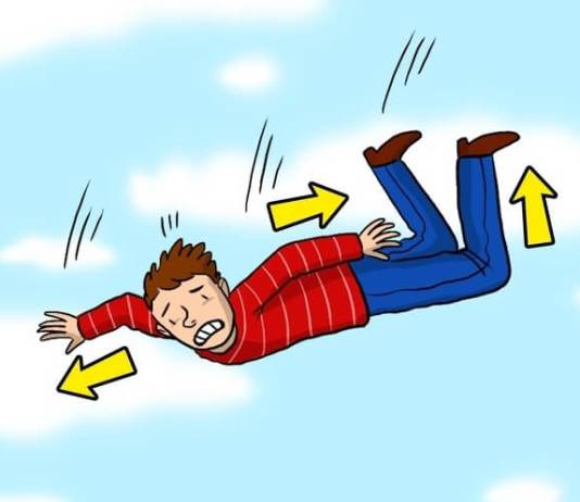 Τι θα συμβεί αν κάποιος πέσει από ψηλά; Τι πρέπει να κάνει;