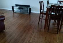 Βαριά αντικείμενα σε ξύλινο πάτωμα - παρκέ