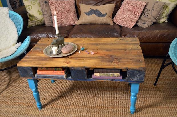 22 τραπέζια φτιαγμένα με παλέτες