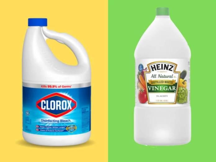 Προϊόντα καθαρισμού δεν πρέπει ποτέ να αναμειγνύετ