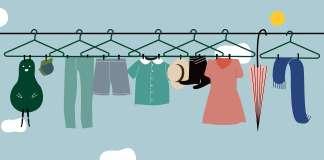 Πως θα απλώσεις τα ρούχα έξω με την κρεμάστρα