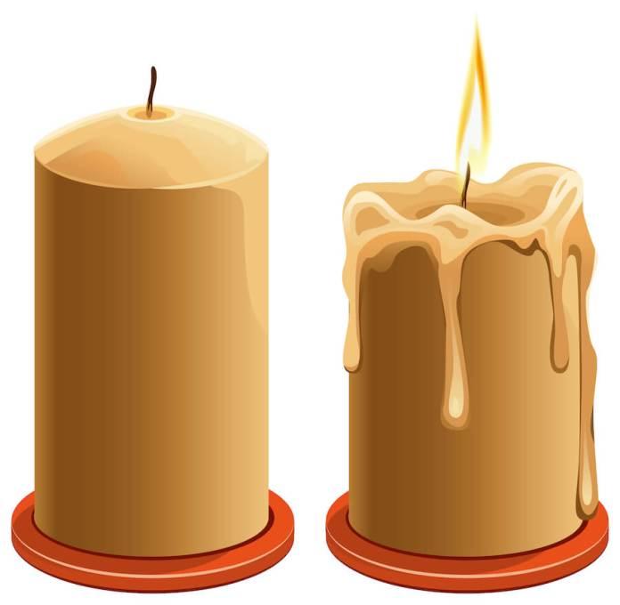 Φαρδύ κερί, στενό το κηροπήγιο;