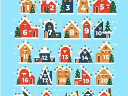 Φτιάξτε ημερολόγιο Χριστουγέννων... λίγο καθυστερημένα