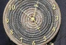 Οικολογικό ρολόι τοίχου