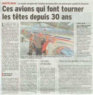Le Dauphiné Libéré vendredi 8 sept.