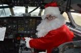 Père Noël cockpit