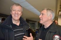 Jacques Aboulin et Alain, très relax.