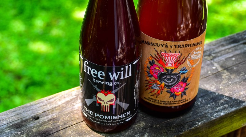 Free Will Pomegranate Sour Pomisher Yazoo Foeder Beer Maracuyá y Tradicional Review