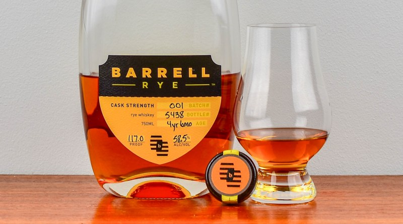 Barrell Rye Batch 001 Review