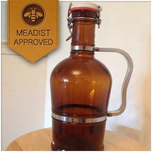 Glass Growler Metal Handle