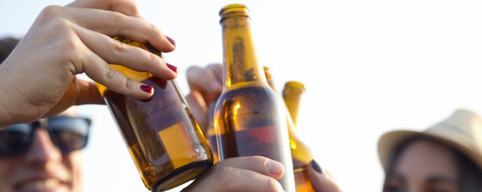 beer bottle cheers